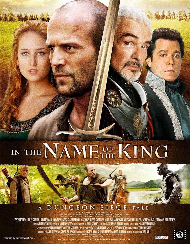 Cartel Reino Unido de 'En el nombre del rey'
