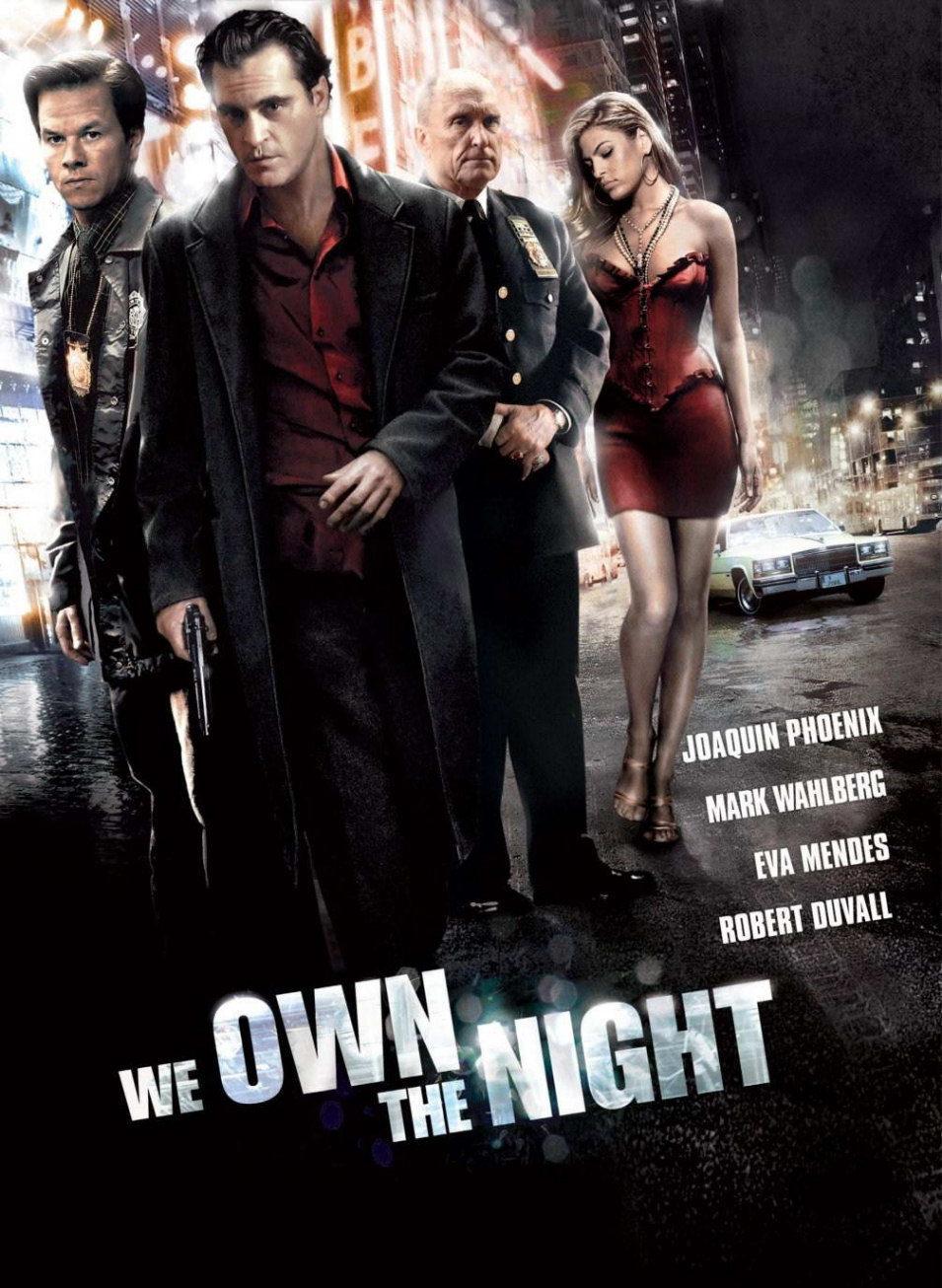 Cartel Estados Unidos de 'La noche es nuestra'