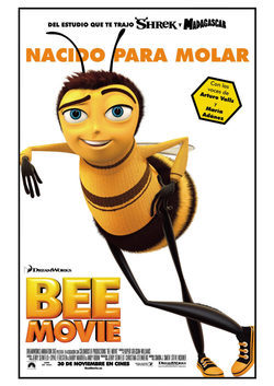 Cartel de Bee Movie