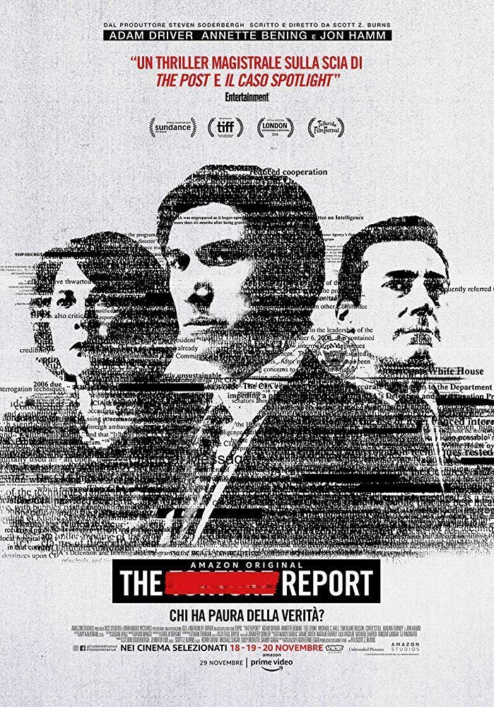 Cartel The Report - Italia de 'The Report'