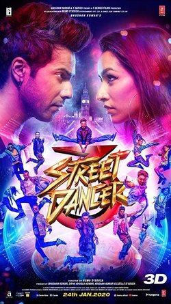 Cartel de Street Dancer 3D