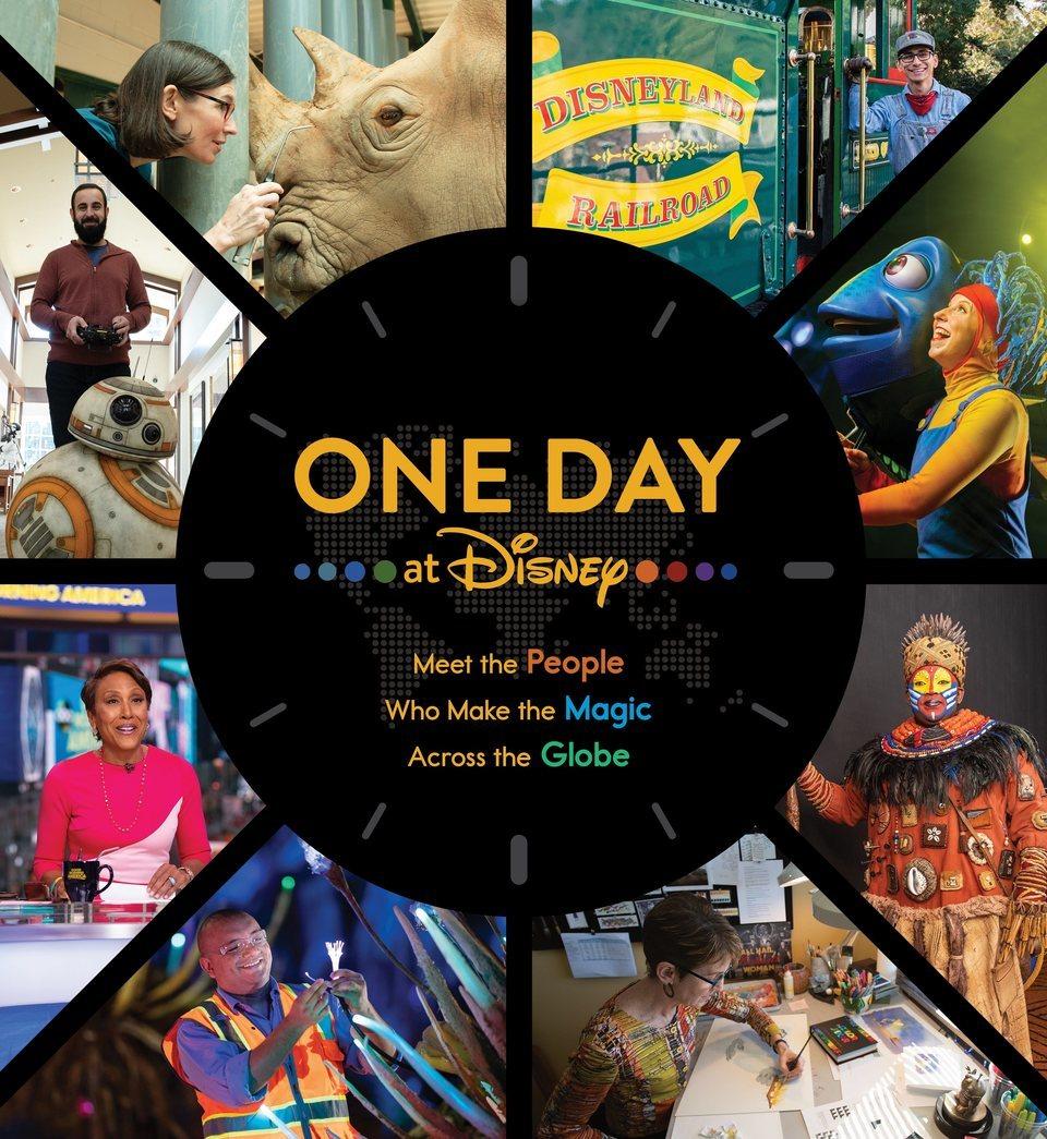 Cartel Póster de 'Un día en Disney'
