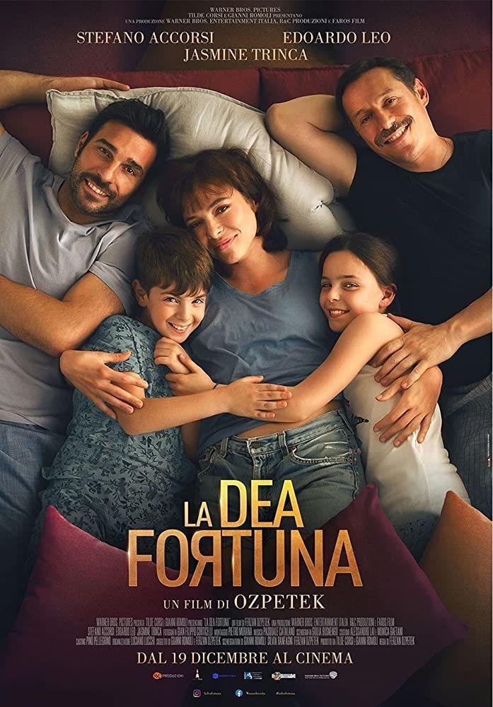 Cartel Italia de 'La Diosa Fortuna'