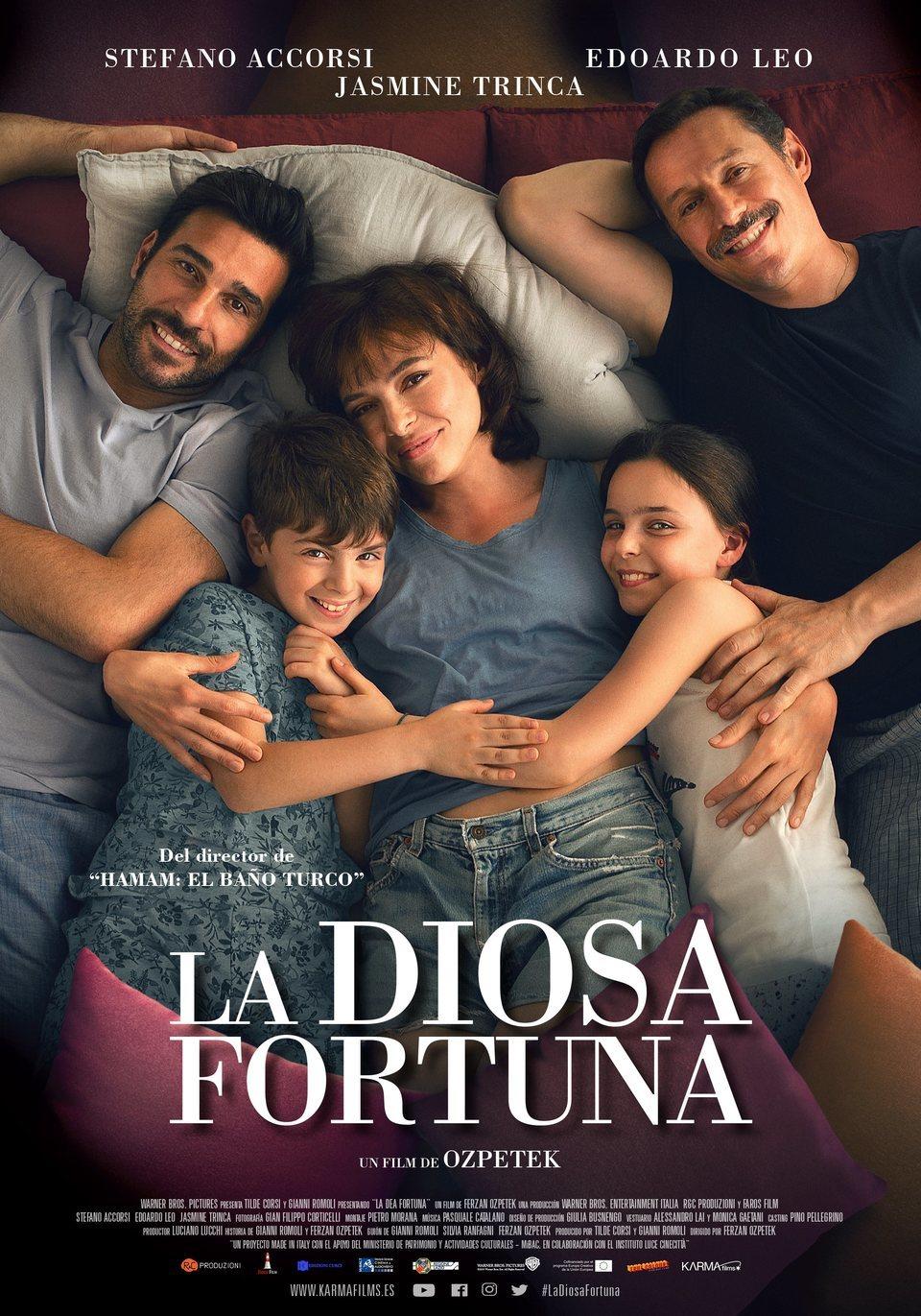 Cartel España de 'La Diosa Fortuna'