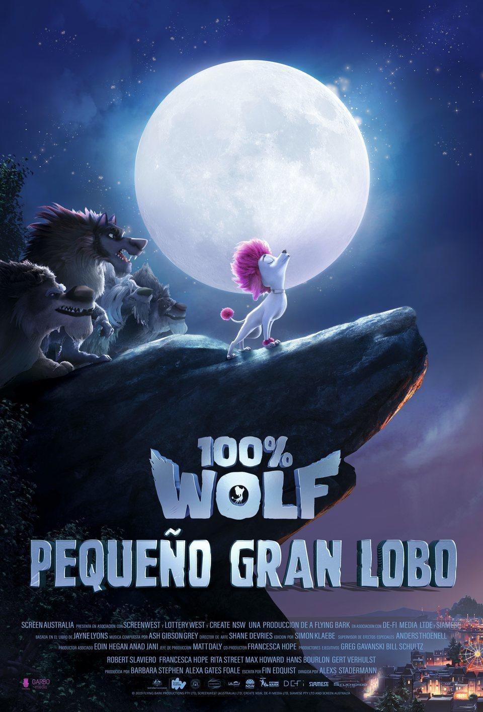 Cartel España de '100% Wolf: Pequeño Gran Lobo'