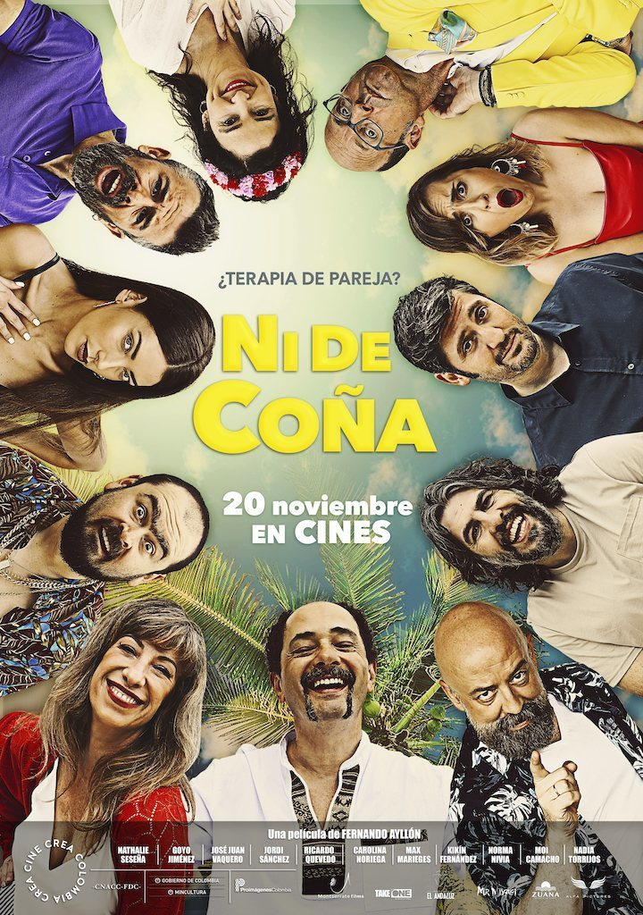 Cartel España de 'Ni de coña'