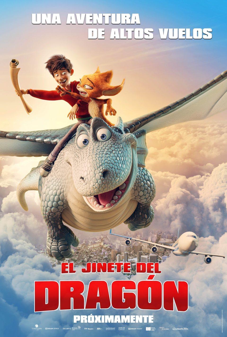 Cartel España de 'El jinete del dragón'