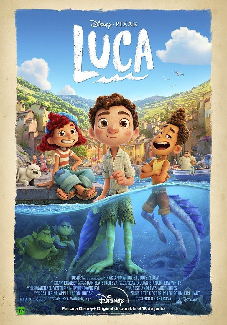 Cartel España de 'Luca'