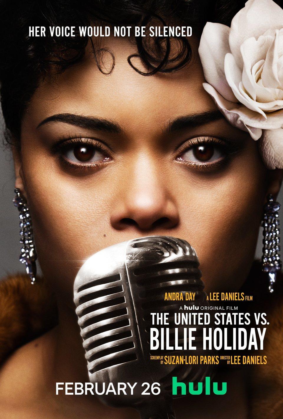 Cartel EEUU de 'Los Estados Unidos contra Billie Holiday'