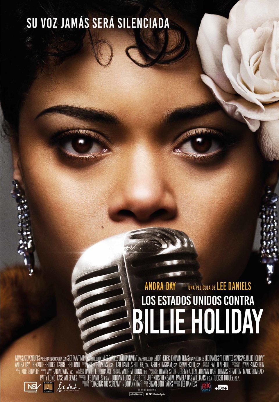 Cartel España de 'Los Estados Unidos contra Billie Holiday'