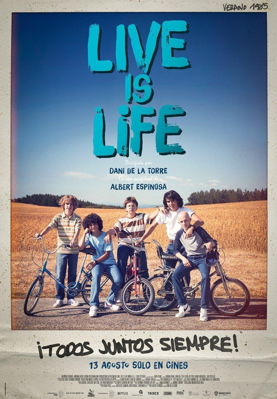 Cartel España de 'Live is Life'