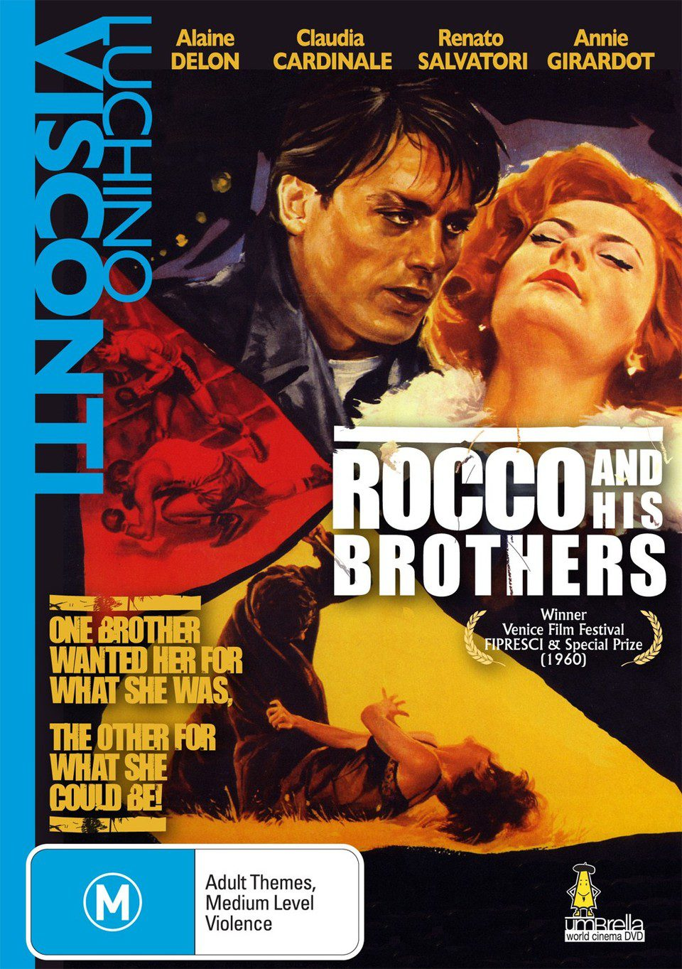 Cartel Australia de 'Rocco y sus hermanos'