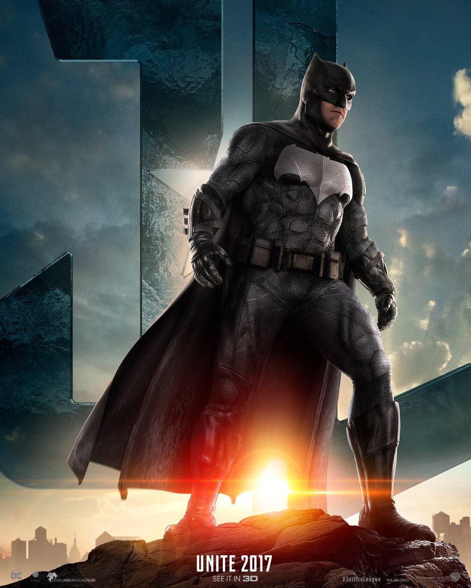 Cartel Batman de 'Liga de la Justicia'