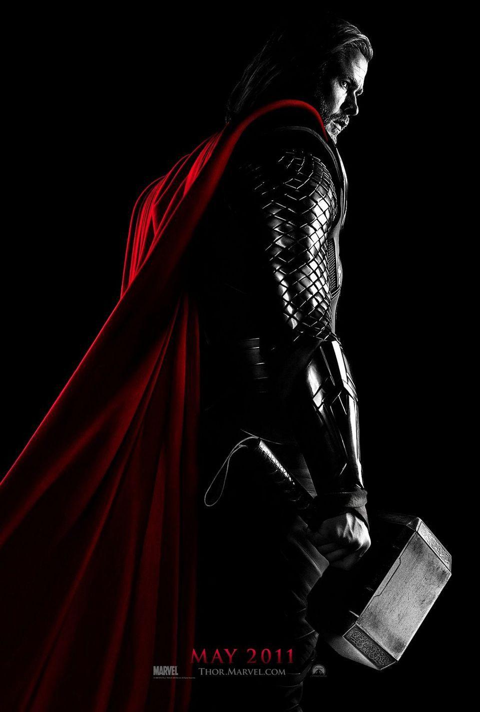 Cartel Teaser Estados Unidos de 'Thor'