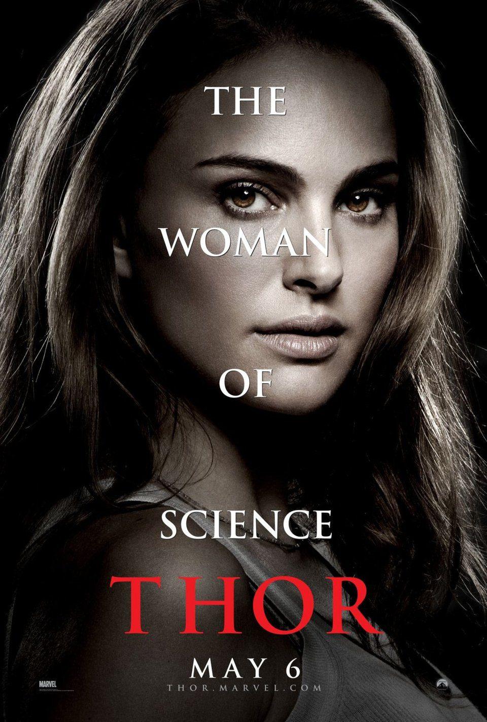 Cartel Jane Foster de 'Thor'