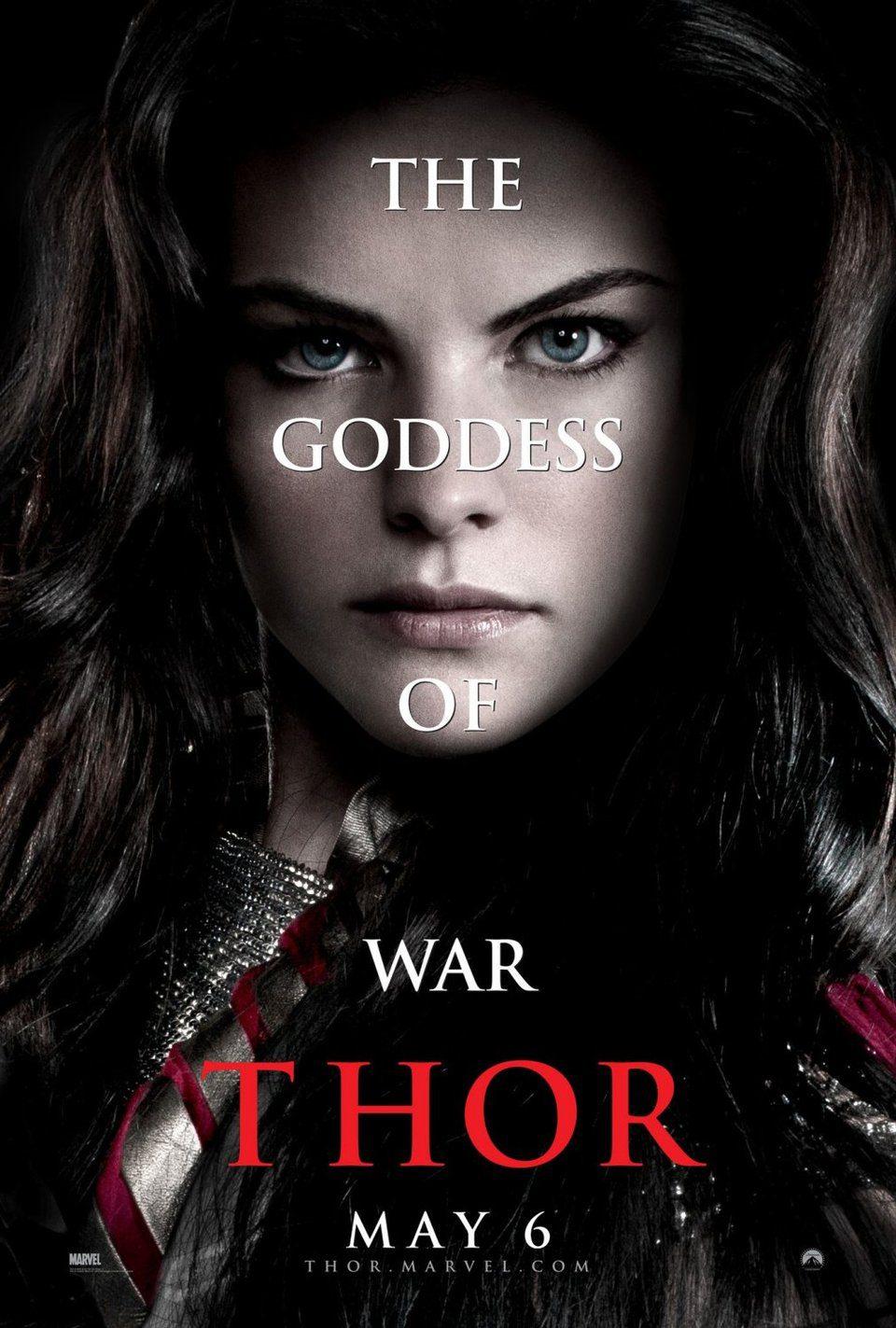Cartel Sif de 'Thor'