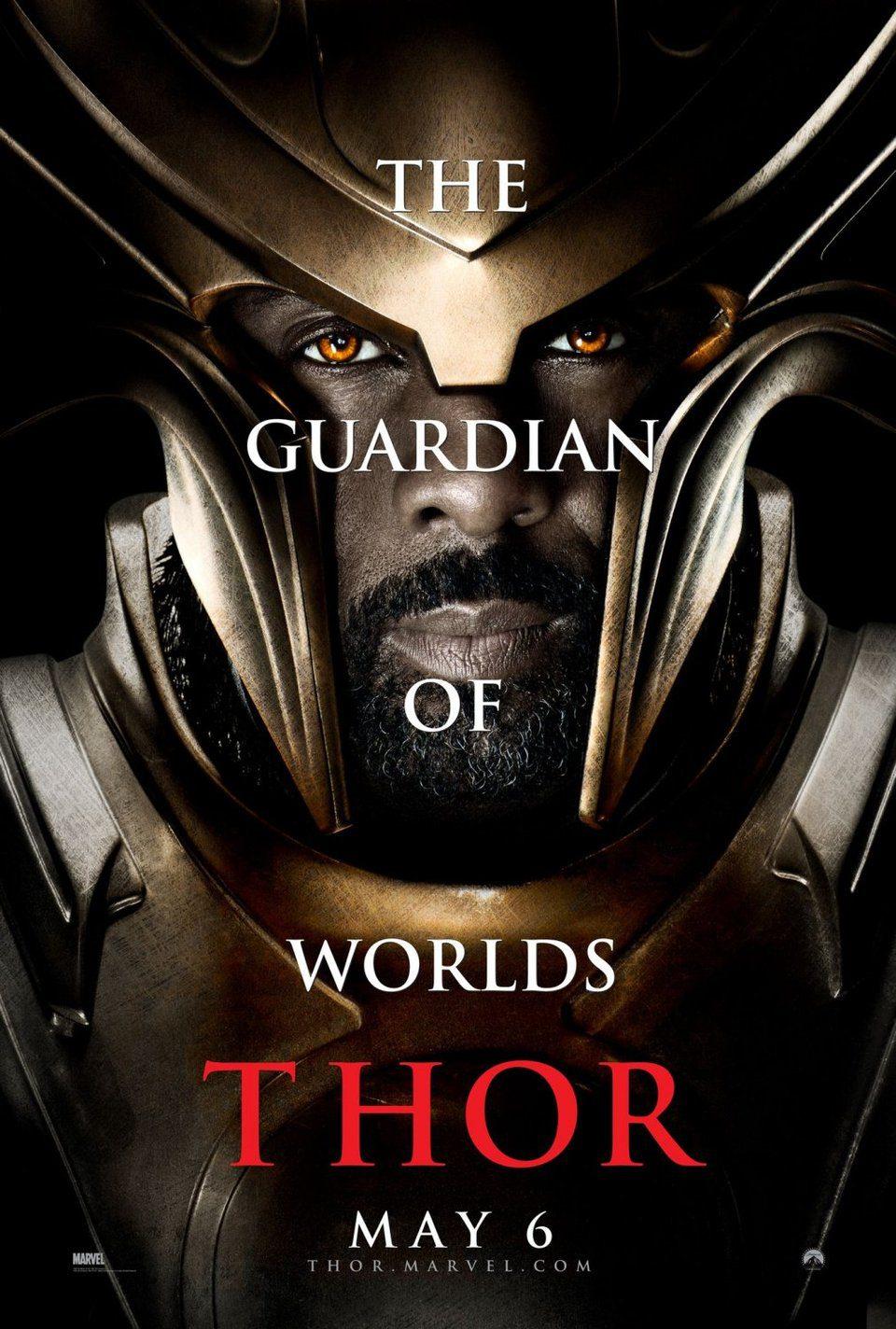 Cartel Heimdall de 'Thor'
