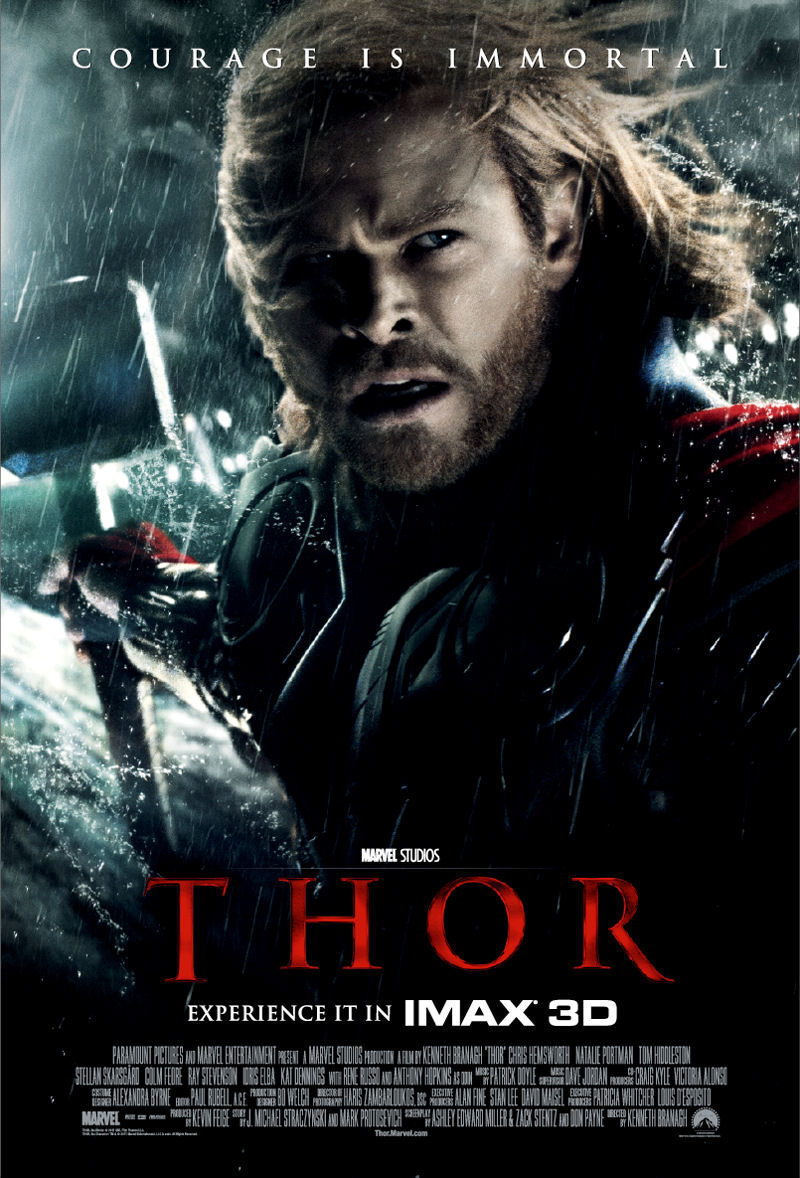Cartel Definitivo Estados Unidos de 'Thor'