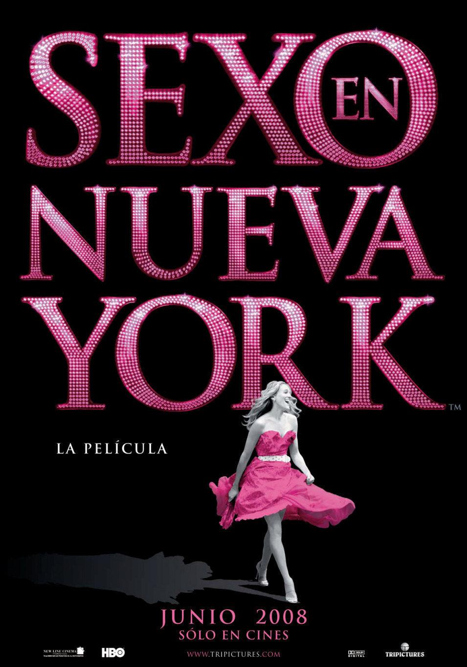 Cartel España de 'Sexo en Nueva York'