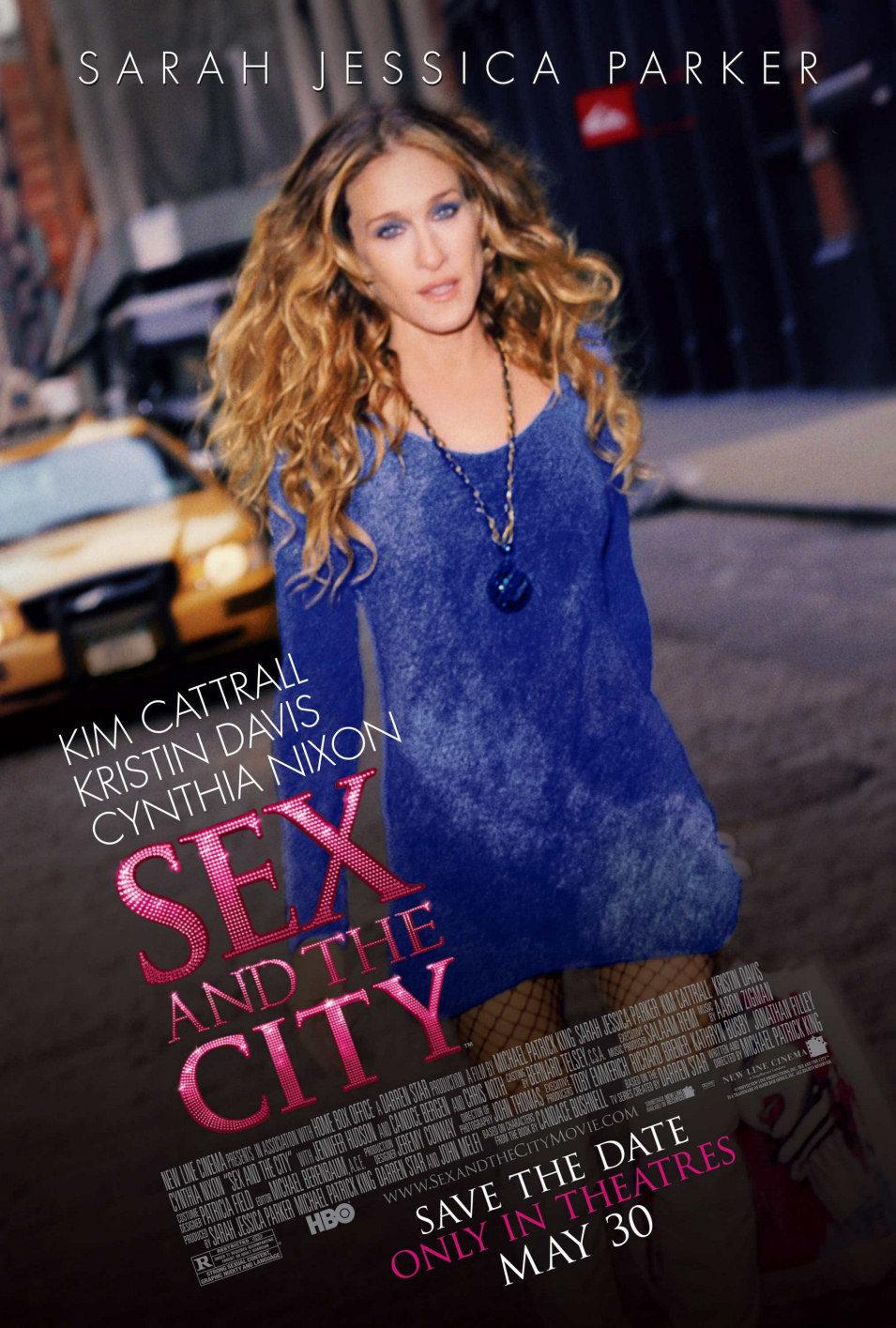 Cartel Estados Unidos de 'Sexo en Nueva York'