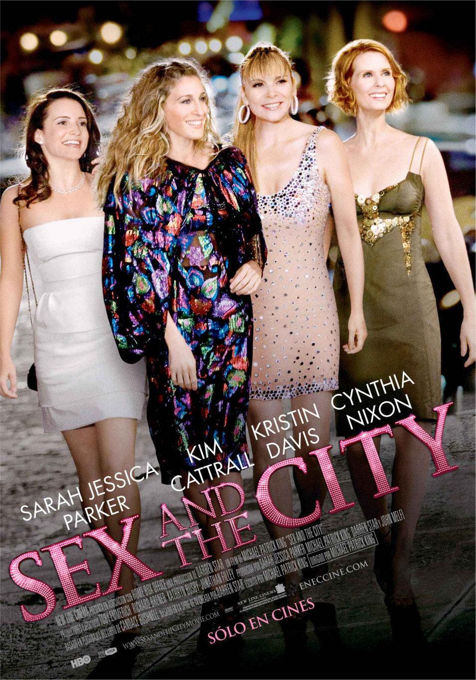 Cartel Latinoamérica de 'Sexo en Nueva York'