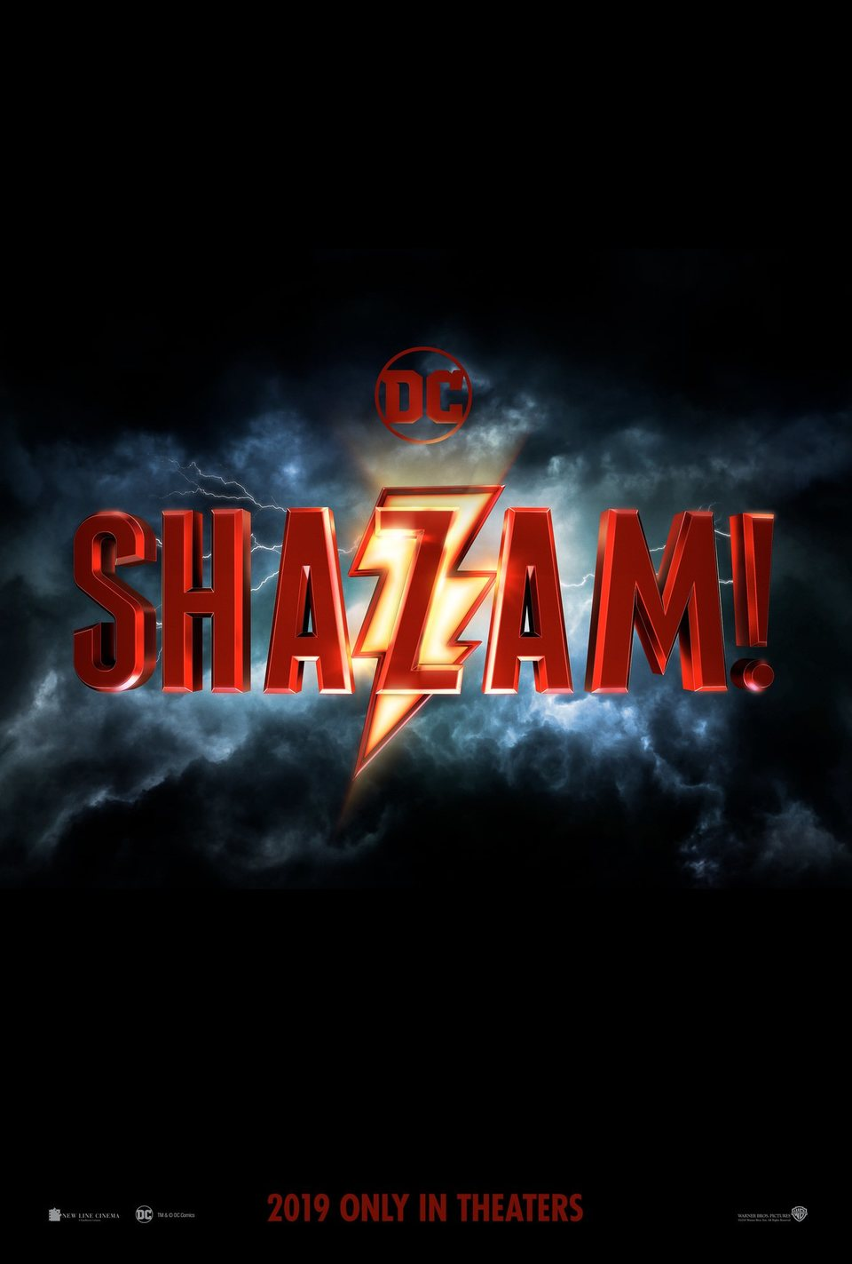 Cartel Teaser 1 de '¡Shazam!'