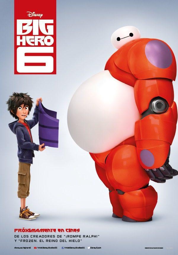 Cartel España de 'Big Hero 6'