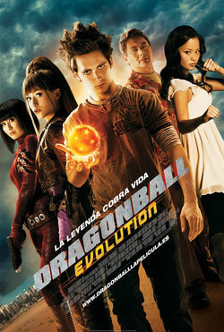 Cartel de Dragonball Evolution