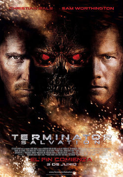 Cartel de Terminator Salvation: the future begins