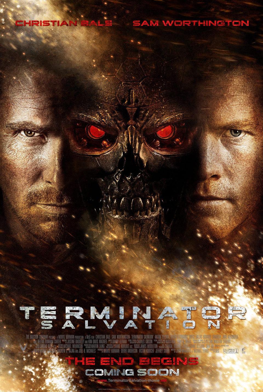 Cartel Estados Unidos de 'Terminator Salvation'