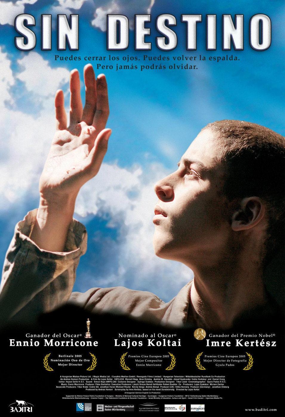 Cartel España de 'Sin destino (Fateless)'