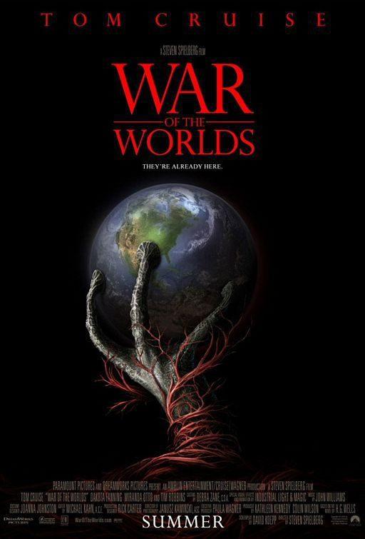 Cartel EEUU de 'La guerra de los mundos'