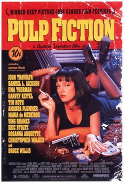 Cartel de Pulp Fiction