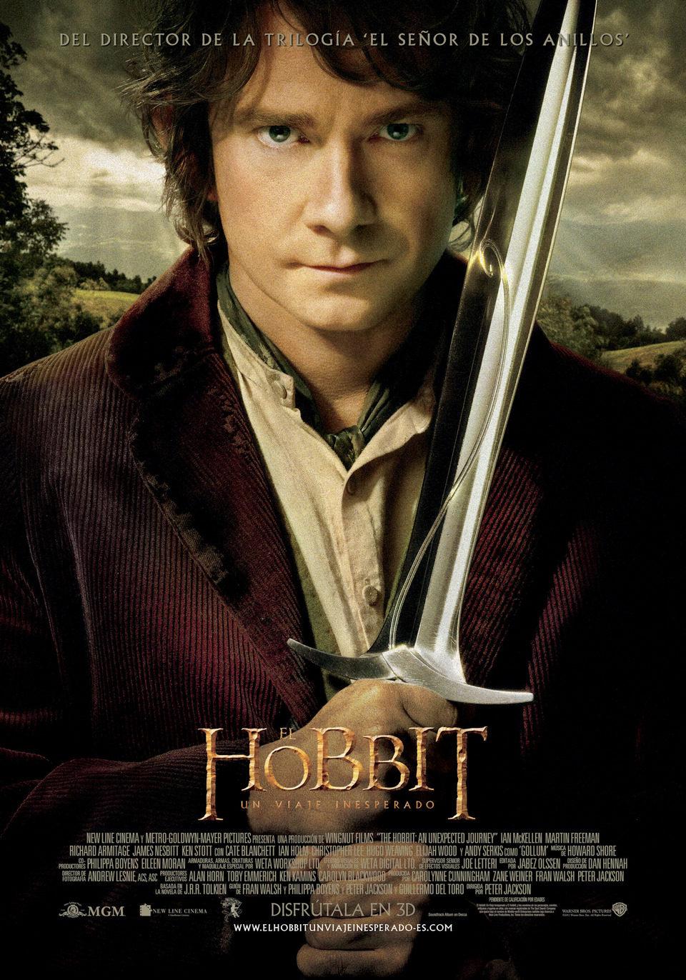 Cartel España de 'El Hobbit: Un viaje inesperado'