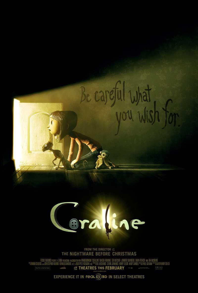 Cartel EEUU de 'Los mundos de Coraline'