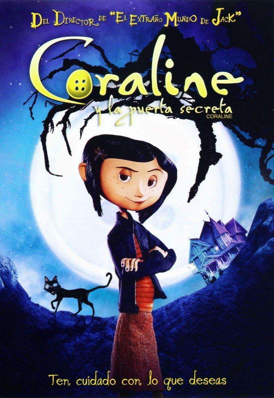 Cartel México de 'Los mundos de Coraline'
