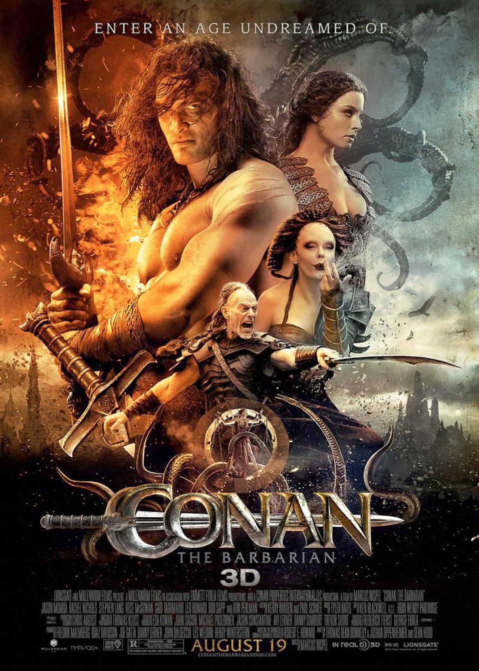 Cartel EEUU de 'Conan el Bárbaro'