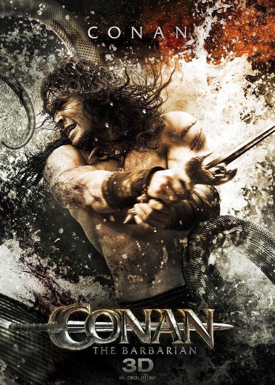 Cartel Jason Momoa de 'Conan el Bárbaro'