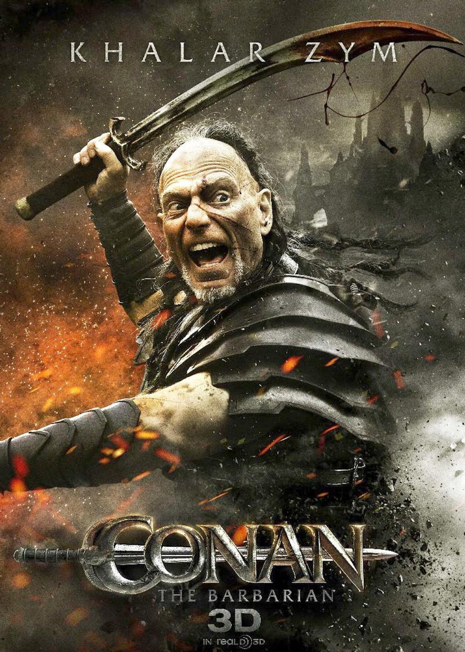Cartel Stephen Lang de 'Conan el Bárbaro'