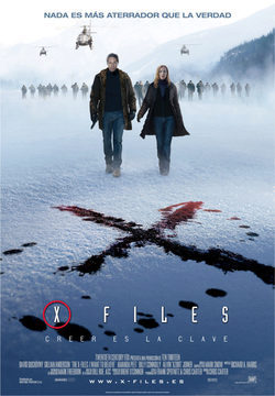 Cartel de X-Files: Creer es la clave
