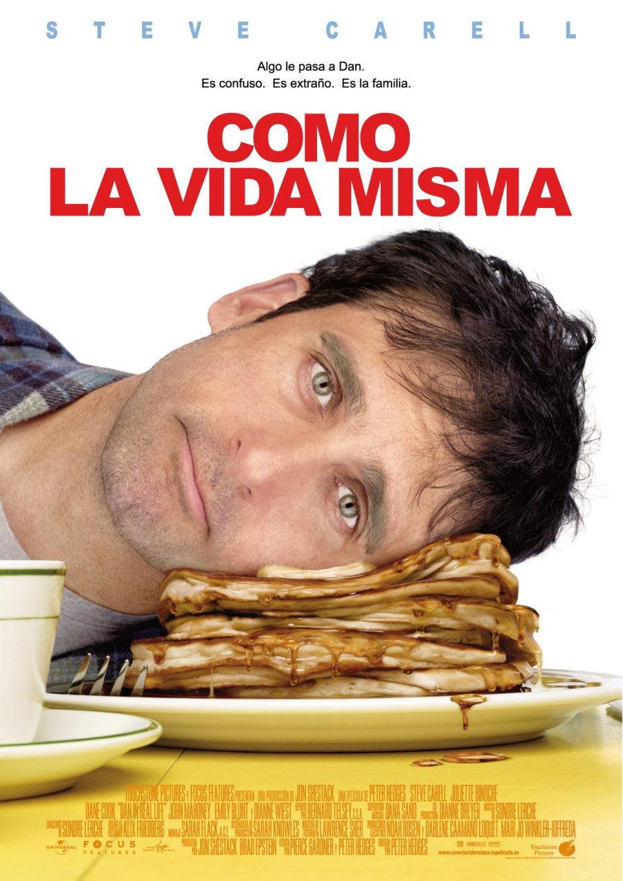 Cartel España de 'Como la vida misma'