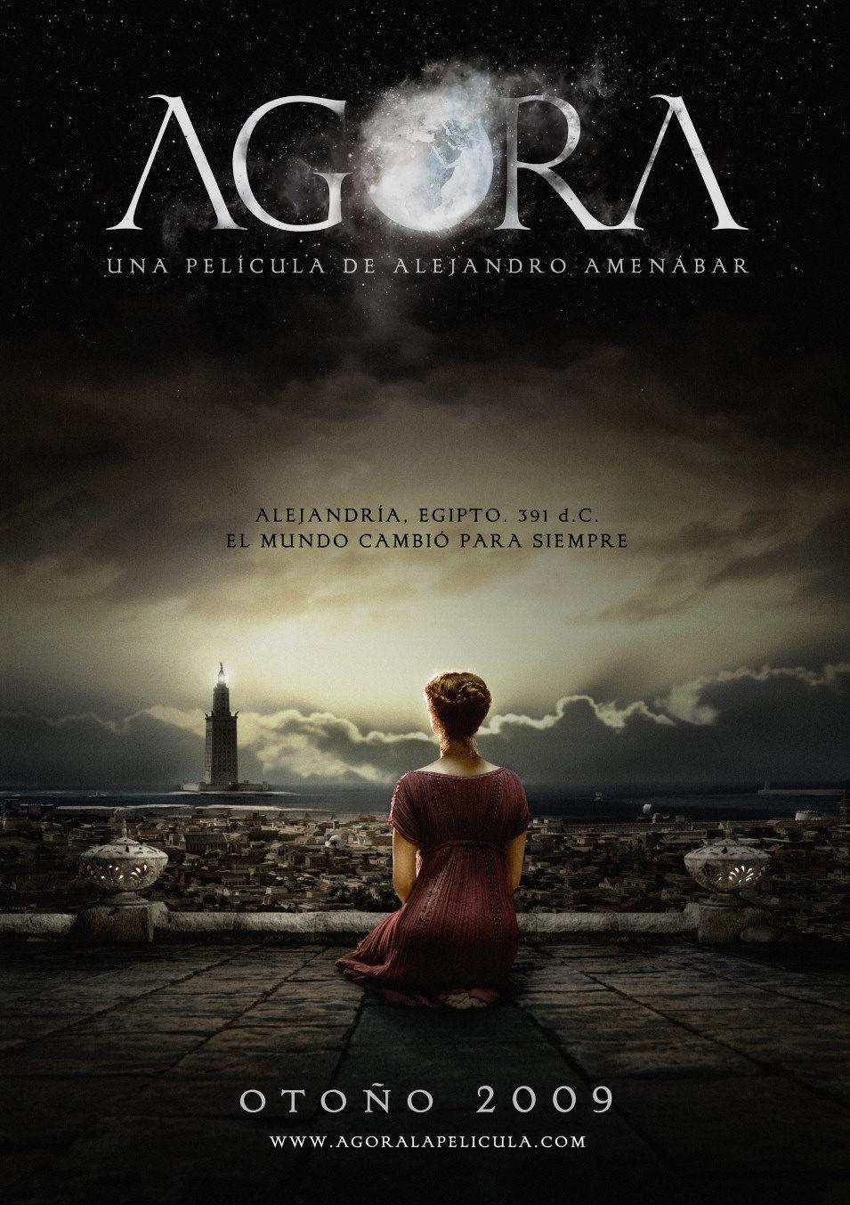 Cartel España de 'Ágora'