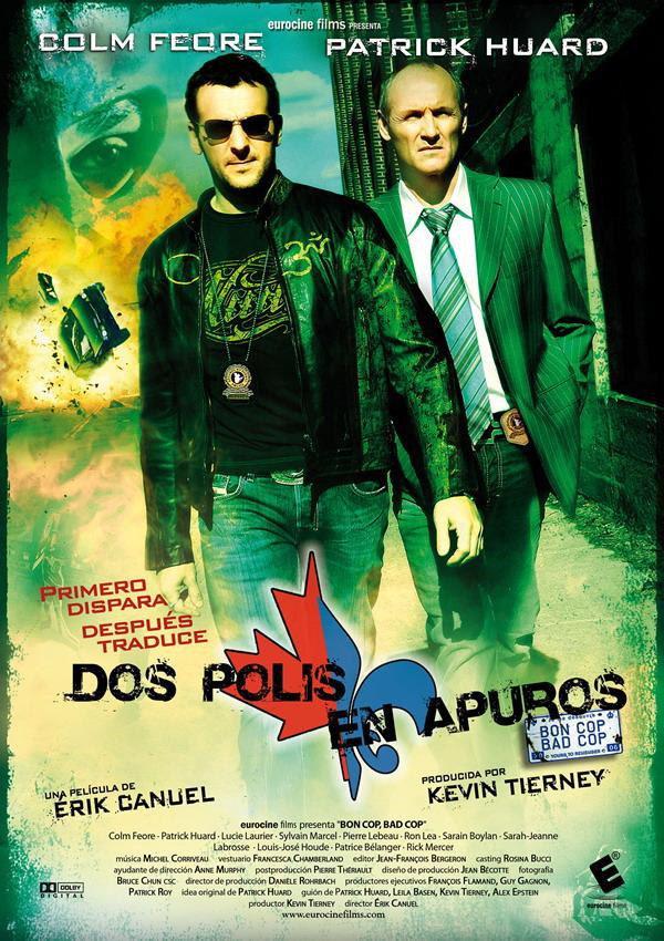 Cartel España de 'Dos polis en apuros'
