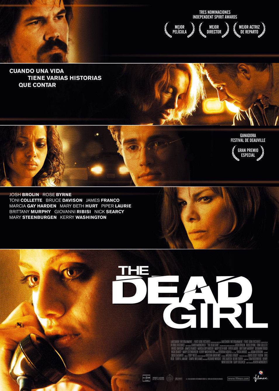 Cartel España de 'The Dead Girl'