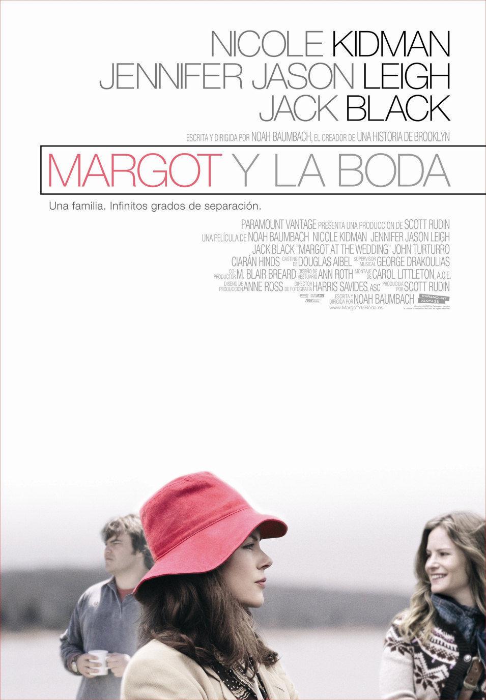 Cartel España de 'Margot y la boda'