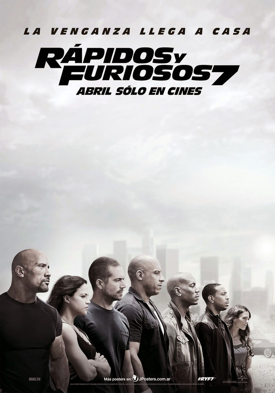 Cartel México de 'Fast & Furious 7'
