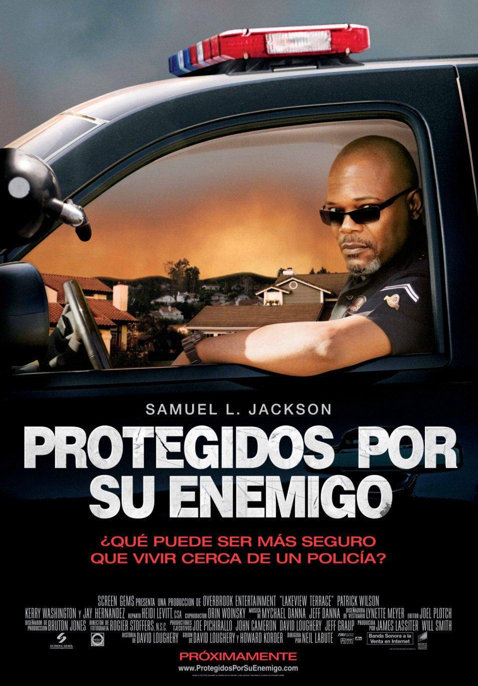Cartel España de 'Protegidos por su enemigo'