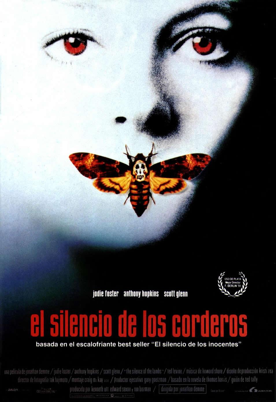 Cartel España de 'El silencio de los corderos'