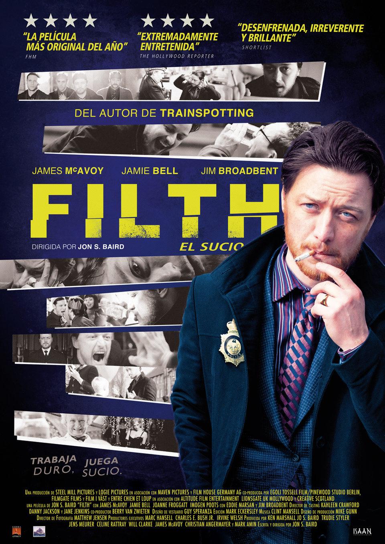 Cartel España 2 de 'Filth, el sucio'
