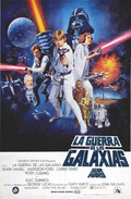 Cartel Star Wars: Episodio IV - Una nueva esperanza